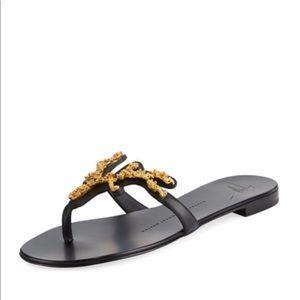 Black Giuseppe Zanotti Sandals